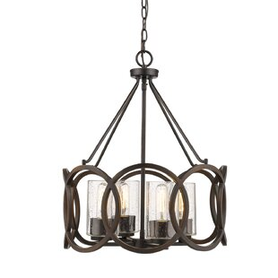 Lorelai 4-Light Drum Chandelier
