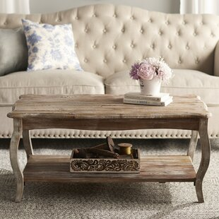 Francoise Coffee Table with Tray Top