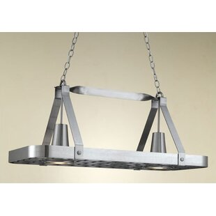 lighted hanging pot racks you ll love wayfair rh wayfair com