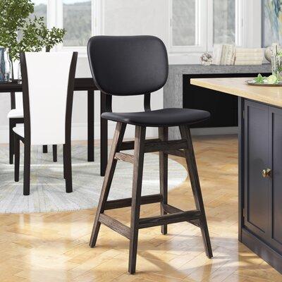 Super Williford 26 Bar Stool Brayden Studio Upholstery Black Cjindustries Chair Design For Home Cjindustriesco