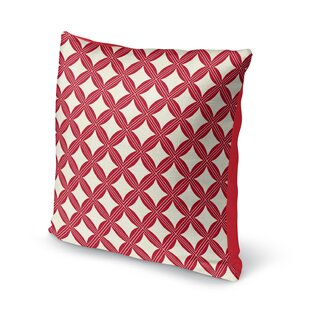 Christmas in Plaid Throw Pillow