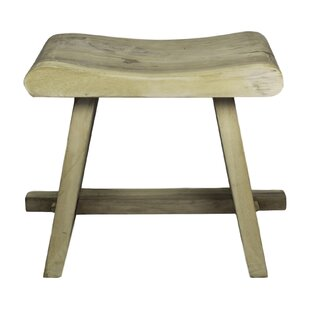 Yellow Pine Rondo Munggur Decorative Stool By Union Rustic