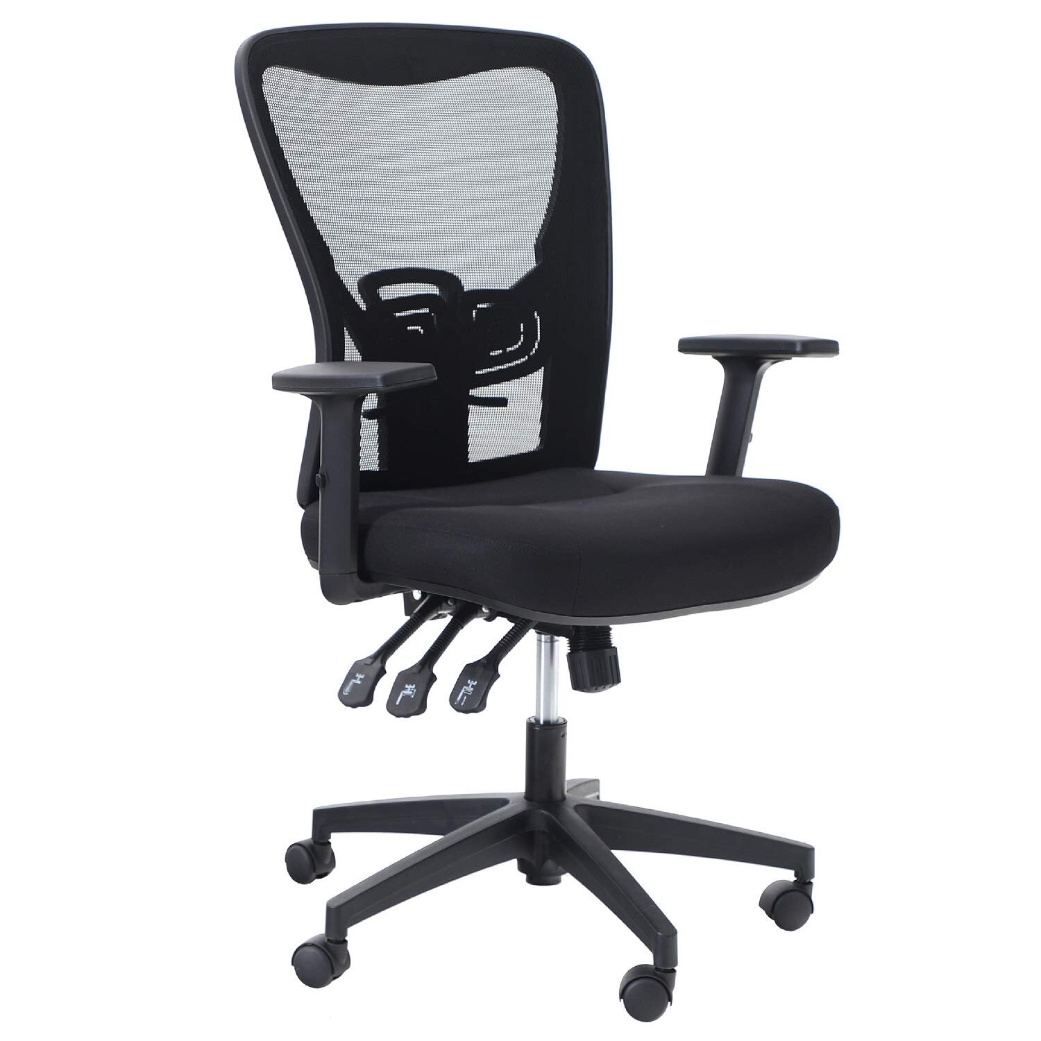 Phi Villa Ergonomic Rocking Mesh Home Office Desk Chair High Back Modern 360 Swivel Executive Computer Chair With Height Adjustable Armrests Wayfair