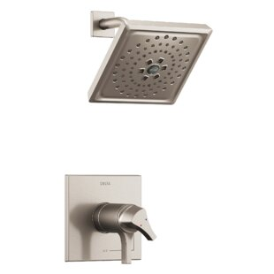 Online Reviews Zura Thermostatic 17T Series Shower Trim with Double Handle and TempAssure By Delta