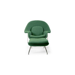 Brayden Studio Avah Lounge Chair and Ottoman