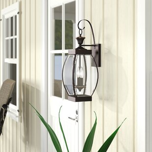 Lark Manor Vieux 2-Light Outdoor Wall Lantern