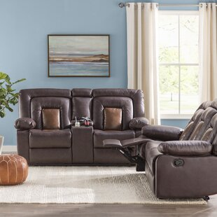 Alice Reclining 2 Piece Living Room Set