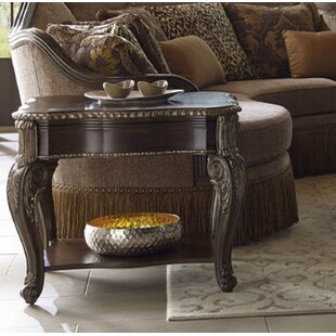 Hepburn End Table by Astoria Grand