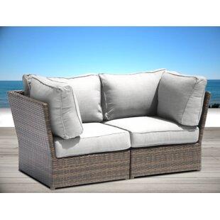 Brayden Studio Simmerman Loveseat with Cushions