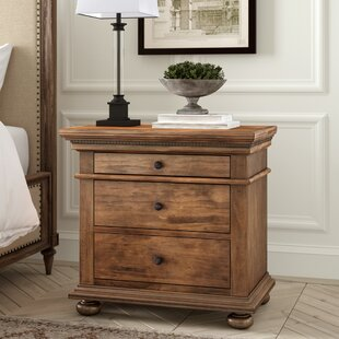 Asherton 3 Drawer Nightstand by Greyleigh