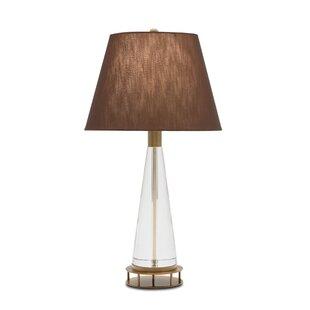 Lead Crystal 26.5 Table Lamp