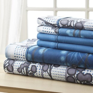 Socorro Blue Branches Sheet Set