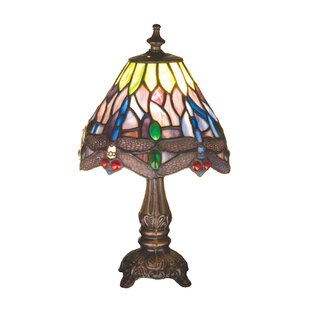 Tiffany Hanginghead Dragonfly 11.5 Table Lamp