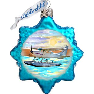 Floating Plane Shaped Ornament by The Holiday Aisle