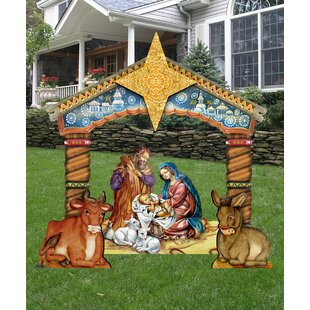 Christmas Nativity Set Outdoor.Yard Nativity Scene 2020 New Car Release Models