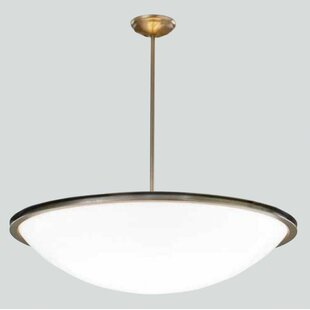 ILEX Lighting Regent Bowl Pendant with Single Stem