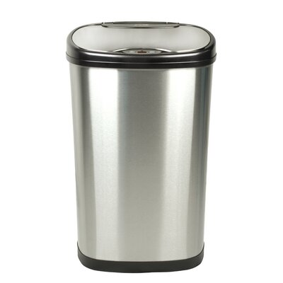 nine stars 132 gallon motion sensor trash can - Commercial Trash Cans