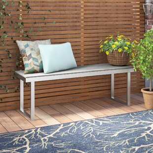 Salvatore Gray Patio Picnic Bench