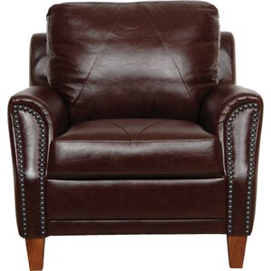 Austin Armchair by Luke Leather
