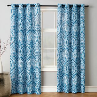 Blue Bedroom Curtains | Wayfair