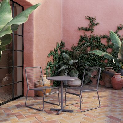 Nyla 3 Piece Bistro Set by CosmoLiving by Cosmopolitan #2