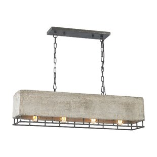 17 Stories Bishop 4-Light Kitchen Island Pendant