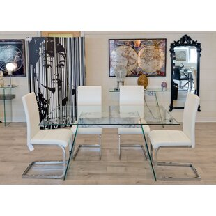 Eddington Dining Set With 4 Chairs By Metro Lane