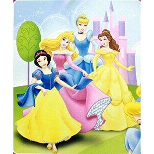 cb062403b2db Disney Princess Beaming Beauties Plush Blanket