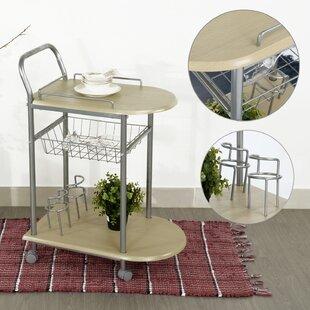 Ebern Designs Breeding Bar Cart