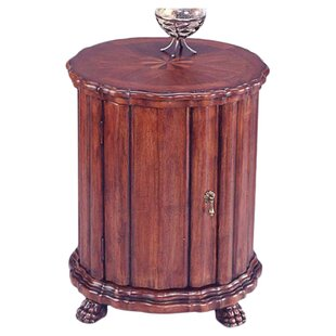 Wickman Cherry Drum End Table