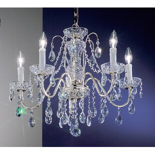 House of Hampton Letitia 5-Light Chain Sh..