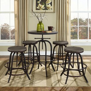 Collect Adjustable Height Bar Stool (Set of 4) Modway