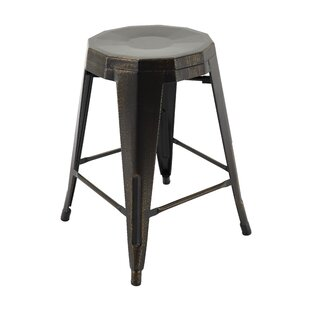 Sammy Bar Stool (Set of 4) by 17 Stories