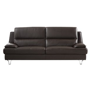 Shop Harrison Leather Sofa by American Eagle International Trading Inc.