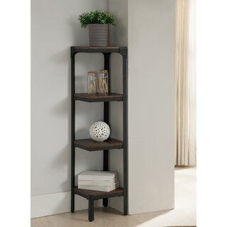 4 Tier Corner Bookcase by InRoom Designs SKU:CC778572 Purchase