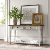 Marion 52 Solid Wood Console Table by Kelly Clarkson Home