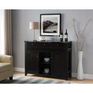 Cearley Wooden Buffet Table Winston Porter