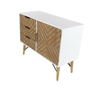 3 Drawer 1 Door Accent Cabinet by Cole & Grey