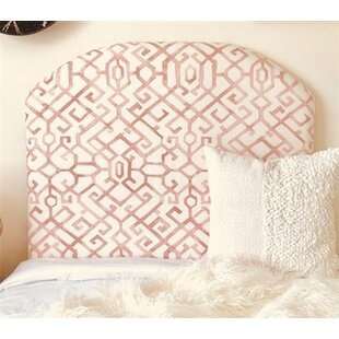 Dewsbury Arched Twin/Twin XL Upholstered Panel Headboard