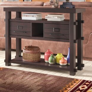 Review Del Norte Console Table By Loon Peak