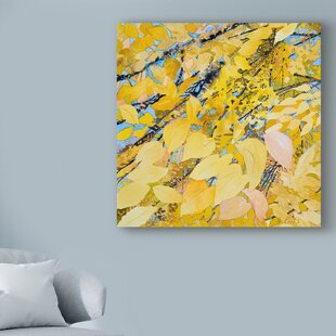 Gold Leaf Painting   Wayfair ca