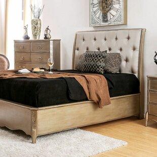 Jackeline Upholstered Panel Bed by Rosdorf Park Comparison