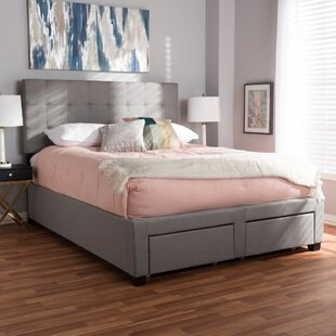 Great choice Eley Upholstered Storage Panel Bed by Wrought Studio Reviews (2019) & Buyer's Guide