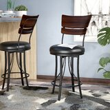 Chatham Bar & Counter Swivel Stool by Red Barrel Studio®
