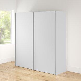 Olivia 2 Door Sliding Wardrobe By 17 Stories