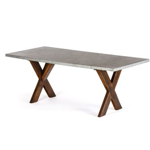 Schuh Solid Wood Dining Table Gracie Oaks