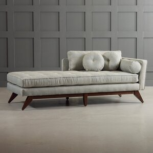 Fairfax Chaise Lounge : modern lounge chaise - Sectionals, Sofas & Couches