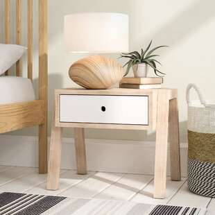 Dale 1 Drawer Bedside Table By Norden Home