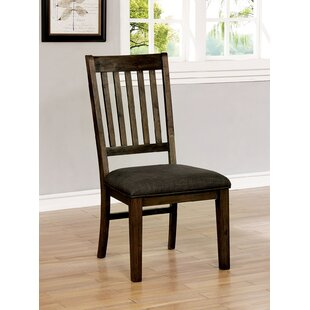 Lockman Dining Chair (Set of 2) Millwood Pines