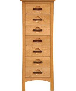 Copeland Furniture Top Coat Berkeley 7 Drawer Lingerie Chest